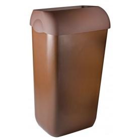 Marplast afvalbak 23 liter Bruin