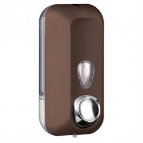 Marplast zeepdispenser soft touch bruin