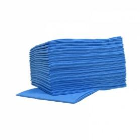 Non-Woven sopdoeken Food HACCP Blauw pak 25 stuks